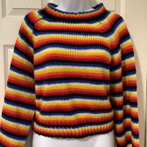 Nasty Gal colorful striped sweater